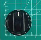 Frigidaire 316544007 Cooktop Knob Electric Smoothtop Temperature Control Black photo