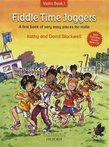 Fiddle Time Joggers Beginners Learn How to Play Violin Music Book 1&CD