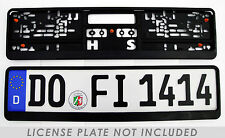 German License Plate Frame / Euro License Plate Frame BMW VW Mercedes Mini Audi