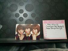 KPOP Orange Caramel Shanghai Romance GROUP photo card After school offical nana