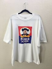 Shirts Happen T-Shirt Quaker Oats Logo Parody Poker Player Shirt Mens Sz 2XL