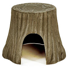 Tree Trunk Hideout - Cage Accessory - Hedgehog, Guinea Pig, Chinchilla & More