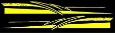 TRIBAL PINSTRIPING GRAPHIC VINYL DECAL FOR SIDE CAR OR TRUCK