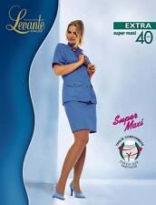 Levante Collant Donna Extra Super Maxi 40 DEN Calza Calibrata taglie forti