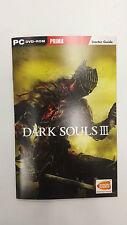 Dark Souls III Manual Starter Guía Pc Solo Nuevo Gb