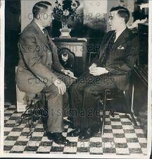 1931 Eye Specialist Dr G H Moore University of PA Graduate Hospital Press Photo