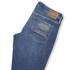 Jeans Blu Uomo Pantalone Tommy Hilfiger Straight Fit Denton - Stretch € 120
