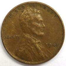 1941 USA Lincoln One Cent Coin.