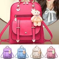 Women's Casual Backpack Shoulder Bag Ladies Travel Handbag School Bags Rucksack