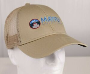 Mayfly Outfitters Jaws Logo Trucker Hat - Color Simms Cork