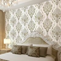 Textured Wallpaper Floral Bedroom Wall Covers Decoration Living Room Wallpapers