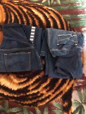 2 maternity Jeans Size Medium  Inseam 32 please read the description