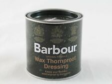 Barbour Wax Thornproof Dressing Tin For Rewaxing Your Barbour Jacket 200ML New