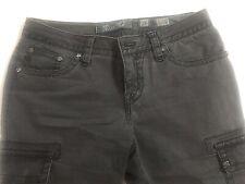 Women's Miss Me Cargo Capri Pants Jeans Size 26