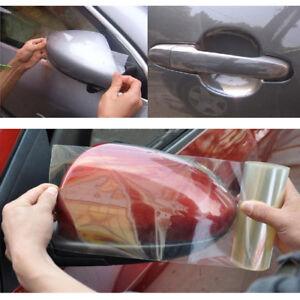 RHINO HIDE Car Paint Protection Vinyl Film Sticker Clear 15CM x 3M TRIPLE LAYER