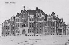 c1910 St Joseph Hospital, South Bend, Indiana Postcard