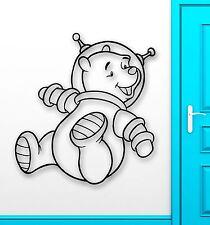 Wall Stickers Vinyl Decal Nursery Winnie The Pooh Cartoon Baby Space (ig1055)
