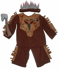 Childs/Boys Indian Fancy Dress Up Costume Book Day Age 3 to 4 years Halloween