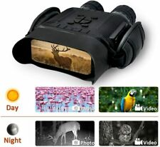 "Rainier Night Vision Binocular 400m/1300ft Range, 4"" Screen, 4.5X Mag, 5X Zoom"