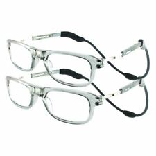High Quality TWIN PACK Magnetic Reading Glasses by Loopies Buy 1 Get 2nd 50% OFF