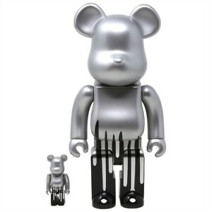 KRINK x Medicom Be@rbrick Figure  BearBrick 400% NOT Kaws Invader Banksy D*Face