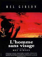 """Affiche 120 x 160 du film """"L' HOMME SANS VISAGE"""" de et avec Mel Gibson ."""