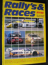 Book Rally's & Races 1987-1988 Door Caju ter Kuile & Ric van Kempen (MCC)