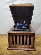 Vintage Antique Edison Amberola 30 Cylinder Player Phonograph