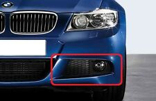 BMW 3 E90 E91 08-11 LCI M SPORT GENUINE FRONT BUMPER LOWER GRILL LEFT 7891395