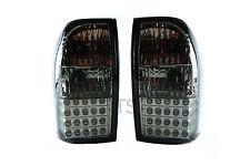 Set Smoke Led Tail Lamps Lights For Mitsubishi Triton Strada Mk L200 1996 - 2004