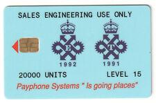 🇬🇧 UK 🇬🇧 - GPT 20000 UNITS TEST CARD , LEVEL 15