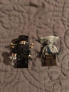 Lego Pirates of the Caribbean Minifigure Lot 4184 Maccus 4195 4192 Blackbeard