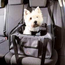 Trixie Hunde Autositz und Hundetasche 44 × 30 × 38 cm, grau/schwarz
