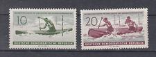 RDA timbres 1961 WM kanuslalom U. rafting Course Mi 839+40 ** tamponné