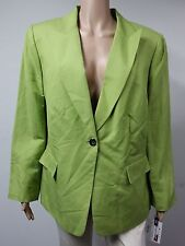 NEW - Tahari - Size 16W - Jacket - Light Green - FAST to AUS / UK / USA - $139