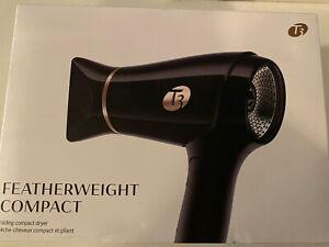 T3 Micro Featherweight Compact Folding Hair Dryer Ceramic-Tourmaline 76856 Black