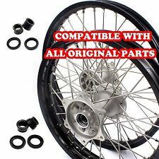 HONDA MX COMPLETE CASTING WHEELS RIMS SET FOR CRF250R CRF450R 2002 2012 21/19