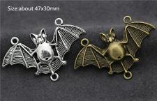 Tibet Silver/Bronze Lovely Bat Jewelry Making Charms DIY Pendant Craft F