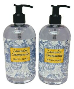 Set of 2 Greenwich Bay LAVENDER CHAMOMILE Shea Butter Hand Soap, 16oz. Each