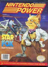1993 Nintendo Power Magazine #47 April Featuring NES Star Fox DuckTales 2 Nice
