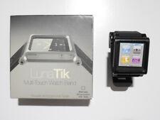Lunatik Aluminum Multi-Touch Silicone Watch Band for Apple iPod Nano
