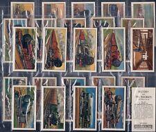 BROWNE BROS TEA-FULL SET- HISTORY OF THE RAILWAYS (2ND SERIES 25 CARDS) - EXC+++