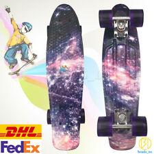 "22"" Cruiser Skateboard Penny Style Board Graphic Galaxy Space 3 Styles DHL/FedEx"