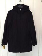 Calvin Klein Black Grey Parka Anorak Jacket Coat M