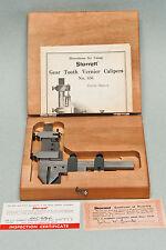 Starrett 456BZ Gear Tooth Vernier Caliper (inch)