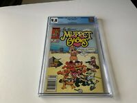 MUPPET BABIES 23 CGC 9.8 WHITE PS NEWSSTAND EDITION SPHINX PYRAMID MARVEL COMICS