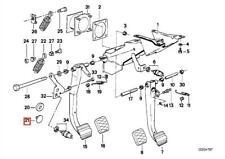 Genuine BMW CMSP E28 E30 E36 E38 E39 Clutch Pedal Stop Buffer OEM 35311152237