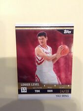 YAO MING 2008/09 TOPPS RIP CARD /25 UNRIPPED