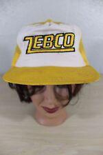 Zebco Fishing Reel Reels Snapback Baseball Trucker Mesh Cap Hat