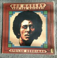 BOB MARLEY AND THE WAILERS - African Herbsman (1973) Vinyl LP (TRLS 62) Reggae